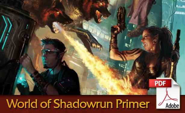 World of Shadowrun Primer