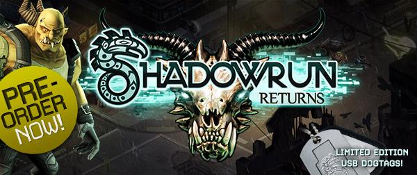 Pre-Order Shadowrun Returns