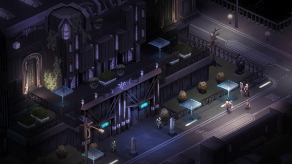 "In the original Dragonfall we never really got to show what life ""on the other side"" looks like in Shadowrun - the cushy corporate enclaves of the future. One of the new missions will take you into a much more upscale residential area of Berlin."